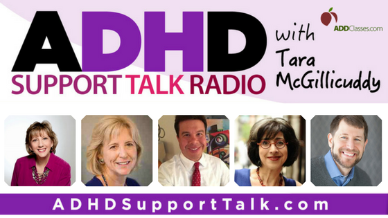 Listen to the Expert ADHD Podcast Guests for June 2017