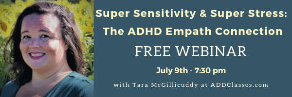 The ADHD Empath Connection: Super Sensitivity & Super Stress